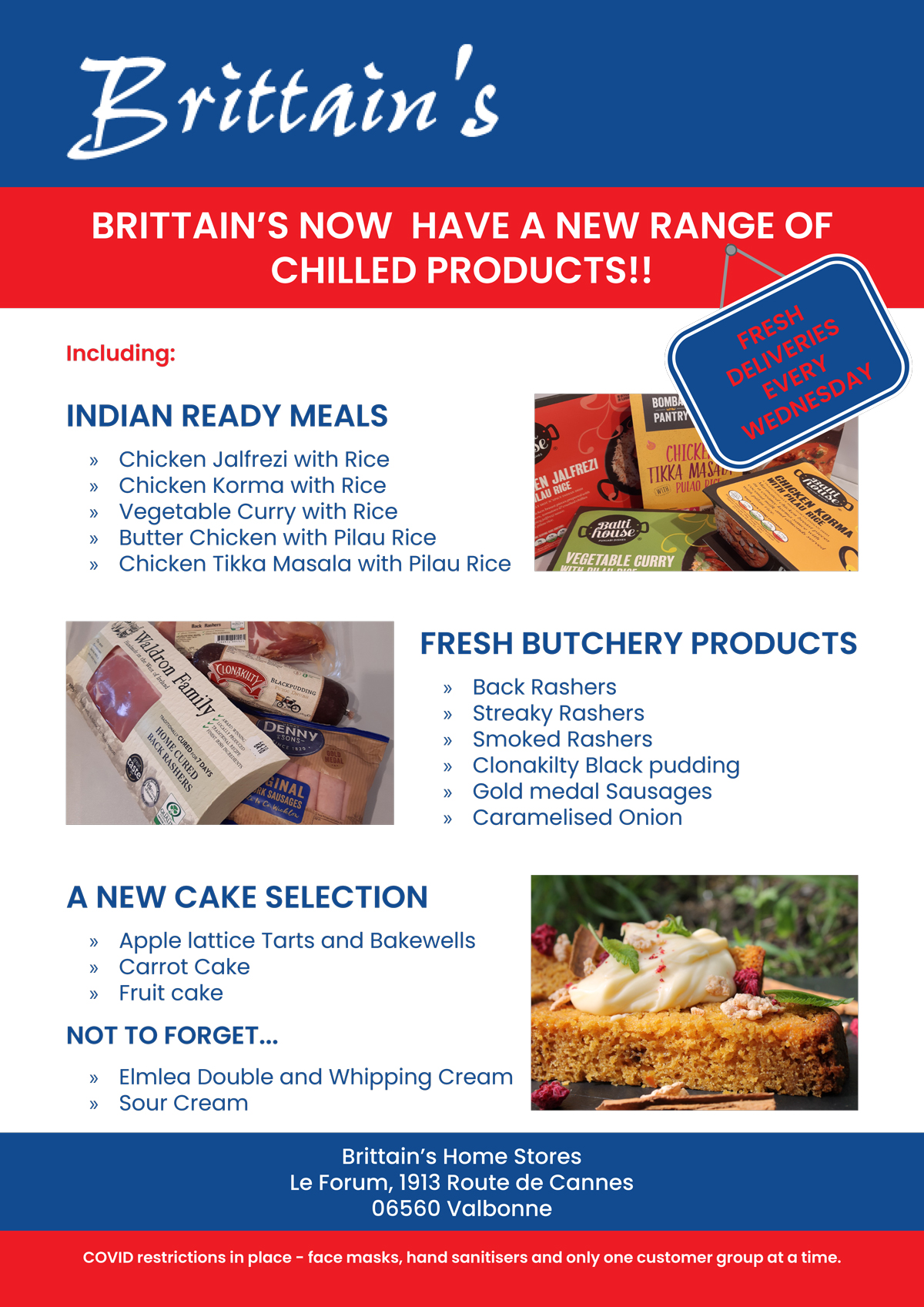 Brittain's new range of chilled products